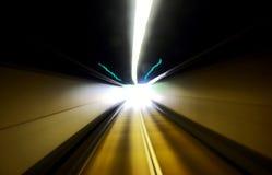 Datenbahntunnel Stockbild