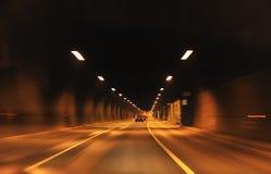 Datenbahntunnel Lizenzfreies Stockfoto