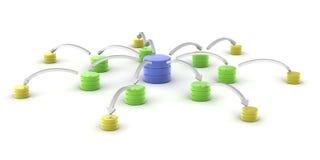 Datenbank Lizenzfreie Stockfotos