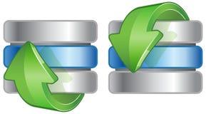 Datenbank-Ikone Lizenzfreies Stockbild