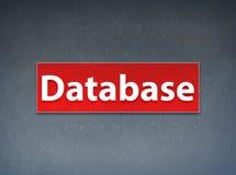 Datenbank-roter Fahnen-Zusammenfassungs-Hintergrund vektor abbildung