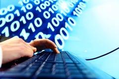 Datenberechnung Lizenzfreies Stockbild