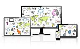 Datenendeinrichtungen Lizenzfreies Stockfoto