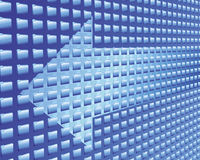 Datenfluss Stockbild