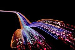 Datenfluss Lizenzfreies Stockbild