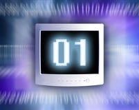 Datenmonitor-Hintergrund Lizenzfreie Stockfotos