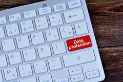 Datenschutz auf Tastaturknopf Lizenzfreie Stockfotografie
