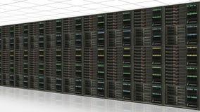 Datenservermitte Stockfotos