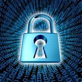 Datensicherheit stock abbildung