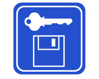 Datensicherheit lizenzfreie abbildung