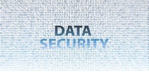 DATENSICHERHEITS-Informationstechnologieausgaben Stockbild