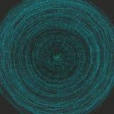 Datenstruktur Ausgebreitetes Modell der großen Daten Auch im corel abgehobenen Betrag vektor abbildung