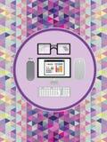 Datenverarbeitung und Technologieberuf Stockfoto