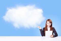 Datenverarbeitungskonzept der Wolke Lizenzfreie Stockfotografie