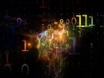 Datenverarbeitungszahlen Stockbilder