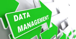 Datenverwaltung. Internet-Konzept. Lizenzfreie Stockbilder