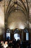 Daterat 15th århundrade för gotisk arkitektur galleri Fotografering för Bildbyråer