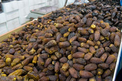 Dates being sold at dates market in Medina Royalty Free Stock Photo