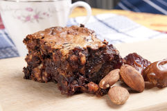 Dates cake Stock Photo