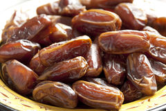 Dates close up Royalty Free Stock Photography