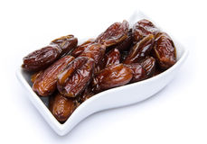 Dates in a cup Stock Photography