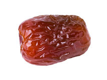 Dates, Fresh dates over white background Stock Images