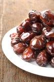 Dates fruit Stock Image