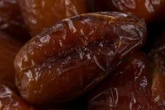 Dates fruits close up Royalty Free Stock Photos