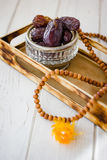 Dates for iftar time. Royalty Free Stock Photos