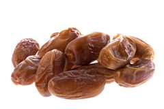 Dates Isolated Stock Image