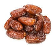Dates isolated on white background Royalty Free Stock Images