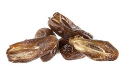Dates isolated on white Royalty Free Stock Photography