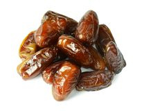 Dates isolated on white background Royalty Free Stock Photo
