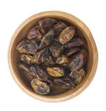 Dates Isolated with white background. Royalty Free Stock Photo