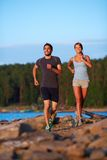 Dates jogging Royalty Free Stock Photo