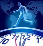 Dates-limites d'affaires illustration libre de droits