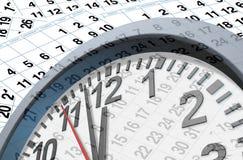 Dates-limites et temps Images libres de droits