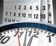 Dates-limites et urgence Image libre de droits