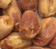 Dates. macro Royalty Free Stock Photography