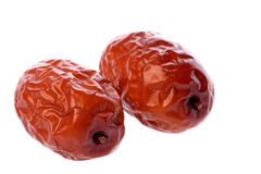 Dates Macro Isolated Royalty Free Stock Photos