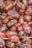 Dates in the market. Lots of dates in the market Stock Photo