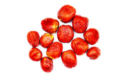 Dates orientales de rouge de jujube Photographie stock