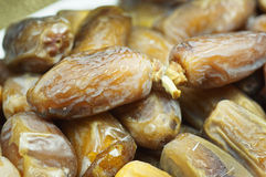 Dates on the Plate Stock Photography