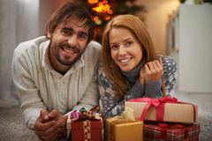 Dates with presents Stock Photography