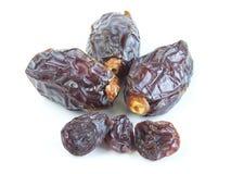 Dates and raisins Royalty Free Stock Photos