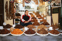 Dates shop Royalty Free Stock Image