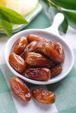 Dates on the table Stock Photo