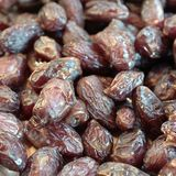 Sugared dates stock image
