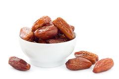 Dates on white Royalty Free Stock Photography