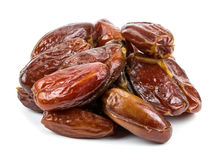 Dates on a white Royalty Free Stock Photography